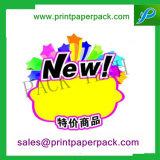 Подгонянный стикер печатание стикера выдвиженческий для рекламировать