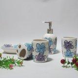 Sostenedor del cepillo de dientes, taza del diente, jabón Dispen, accesorios del cuarto de baño (F205)
