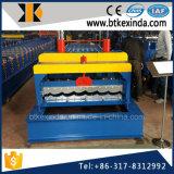 Hete Verkoop 1100 van Kxd Gegalvaniseerde Blad Verglaasde Tegel die Machine maken