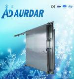 Puerta deslizante del acero inoxidable de la conservación en cámara frigorífica de la puerta deslizante de la cámara fría de la buena calidad de Aurdar