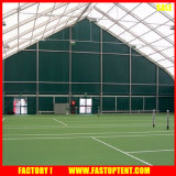 Изогнутая ПВХ палатку с Sun Poof навеса и Водонепроницаемость на футбольном поле