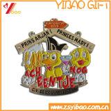 Medaglia su ordinazione del metallo di alta qualità per concorrenza (YB-m-025)