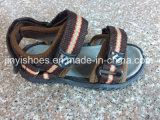 Schoenen van de Schoenen van de Kinderen van de Schoenen van het Sandelhout van jonge geitjes de Vlakke Toevallige