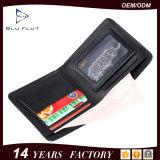 Портмоне бумажника неподдельного зерна способа красное кожаный миниое карманное для людей