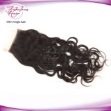 Indian Virgin Human Hair Natural Wave Freestyle Lace Closure