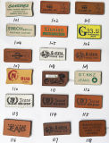 De aangepaste Etiketten van het Leer voor Jeans