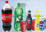 Linha de produção da bebida do frasco