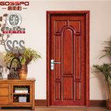El columpio Modelos de entrada Puertas Tipo de madera interior de la puerta abierta y Estilo (GSP2-019)