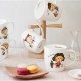 Tazza di caffè di ceramica promozionale resa personale prezzo poco costoso