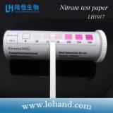 低価格簡単な操作の硝酸塩の試験用紙