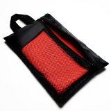 Tovagliolo di spiaggia a doppia faccia del velluto di Microfiber con il sacchetto di cattura facile dell'imballaggio (tovagliolo di bagno)