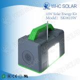 Multifunctionele 10W Zonne Kleine Navulbaar van de Uitrusting van de Verlichting van het Huis