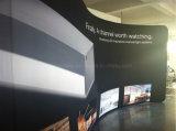 Spannkraft-Gewebe-beweglicher Ausstellung-Standplatz, Ausstellungsstand, Fahnen-Standplatz (KM-BSS2)