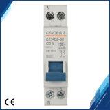 Disjoncteur miniature Dpn 1p + N25A de qualité supérieure MCB