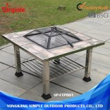 Alto Balcón Superior Camping Outdoor BBQ Fire Pit Tabla