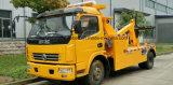 Camion di rimorchio del Wrecker 4*2 della strada di Dongfeng LHD Rhd