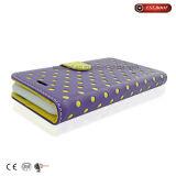 iPhone en cuir Samsung Xiaomi Huawei de détenteur de carte de caisse de téléphone de chiquenaude