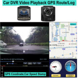 Novo Registro de Rastreamento por GPS Car Dash Câmera com antena do receptor GPS, Full HD1080p Carro Gravador de Vídeo Digital, 5.0Mega Carro Black Box-2416 DVR da câmera
