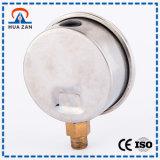 2-Zoll-Öldruckanzeige Ölhydrauliköldruckmesser Gefüllt