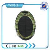 타원형 2 USB 5000mAh 태양 에너지 은행