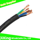 Rvv 300 / 500V PVC isolada PVC Cover / Jacket / bainha Soft Power Wire Cable