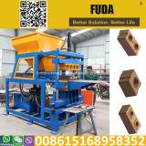 Bloc comprimé de verrouillage de brique de la terre Fd4-10 faisant le prix de machine