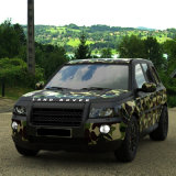 Tsautop 1,52*30m Camouflage Carro de acondicionamento de vinil e auto-adesivo impermeável, livre de bolhas de ar Carro Vinil Adesivo PVC de Finalização