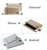 double côté mobile ultra mince de pouvoir de carte de poche de pouvoir du câble usb 5000mAh