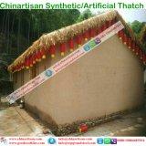 La chaume synthétique de paille africaine et voudrait rendre technique et ignifuge pour la ressource 24 de toit