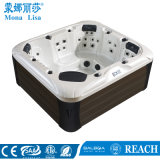 Acryl Round Outdoor Massage SPA Badkuip, Hete Ton (m-3390)