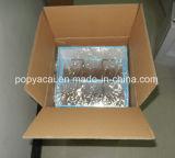 Cartel expositor de cartón con 2 bandejas separadas, la nave con premontado Paquete