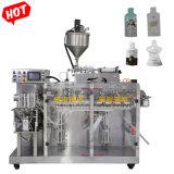 Caixa de beber água pura/ Leite/ Bolsa Sumo sachê de enchimento Duplo máquina de embalagem