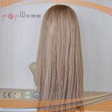 Comercio al por mayor de Brasil Virgen recta peluca de pelo humano (PPG-L-01097)