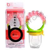 El alimentador BPA de la fruta fresca del bebé del silicón de la categoría alimenticia libera
