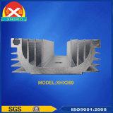 Dissipatore di calore di alluminio dell'espulsione per l'SCR e l'elettronica