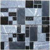 Tuiles de mosaïque en verre et de pierre (GQ03)