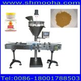 Kleines Datenträger-Puder, das dosiert /Semi-automatische Puder-Stangenbohrer-Füllmaschine der Maschine (1-500g)