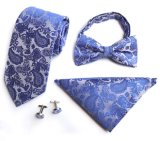 Laços do casamento do negócio do PONTO do homem clássico tecido do laço liso do poliéster do Sell seda superior para a forma do partido dos homens ocasional (ST005/006/007/008)