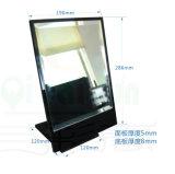 Materieller Acryltisch-acrylsauerspiegel