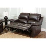 上穀物革一義的なデザイン居間のソファー