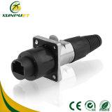 Connecteur rond imperméable à l'eau de fil de moulage par injection pour l'Afficheur LED