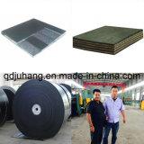 Ep/nn algodón tubular de Nylon Wear-Resistant Transportador de cinta de goma