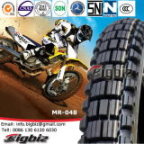 In het groot Merk 3.00-17 de VoorBand van de Motorfiets