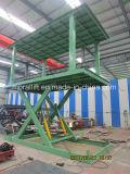 Levage de véhicule de machine de levage hydraulique avec le double paquet