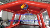 膨脹可能なカーウォッシュのパッドのテント車カバー
