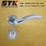 Maniglia in lega di zinco della serratura con la placcatura di bicromato di potassio (STK-Z1121)