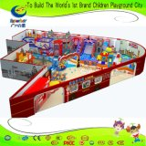 Спортивная площадка детей новой конфеты конструкции опирающийся на определённую тему с бассеином шарика