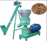 Alimentos para animais de pequeno moinho de péletes Flat Die fazendo a máquina (WSB)