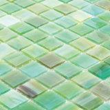 Het unieke Groene Mozaïek van het Gebrandschilderd glas voor Muur