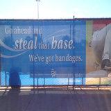 Изготовленный на заказ знамя загородки сетки винила PVC индикации напольный рекламировать печатание цифров